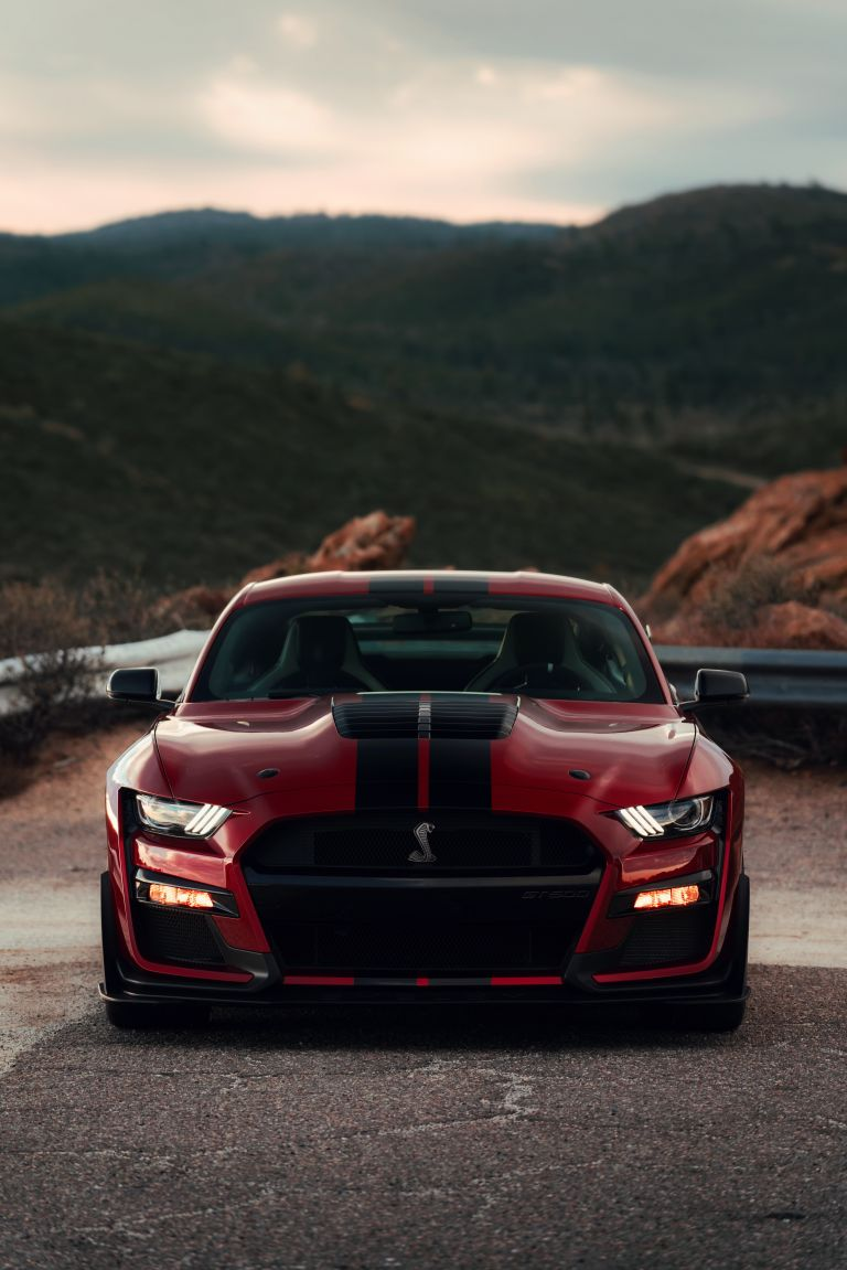 download 2020 Ford Mustang Shelby GT500 high resolution car 768x1151