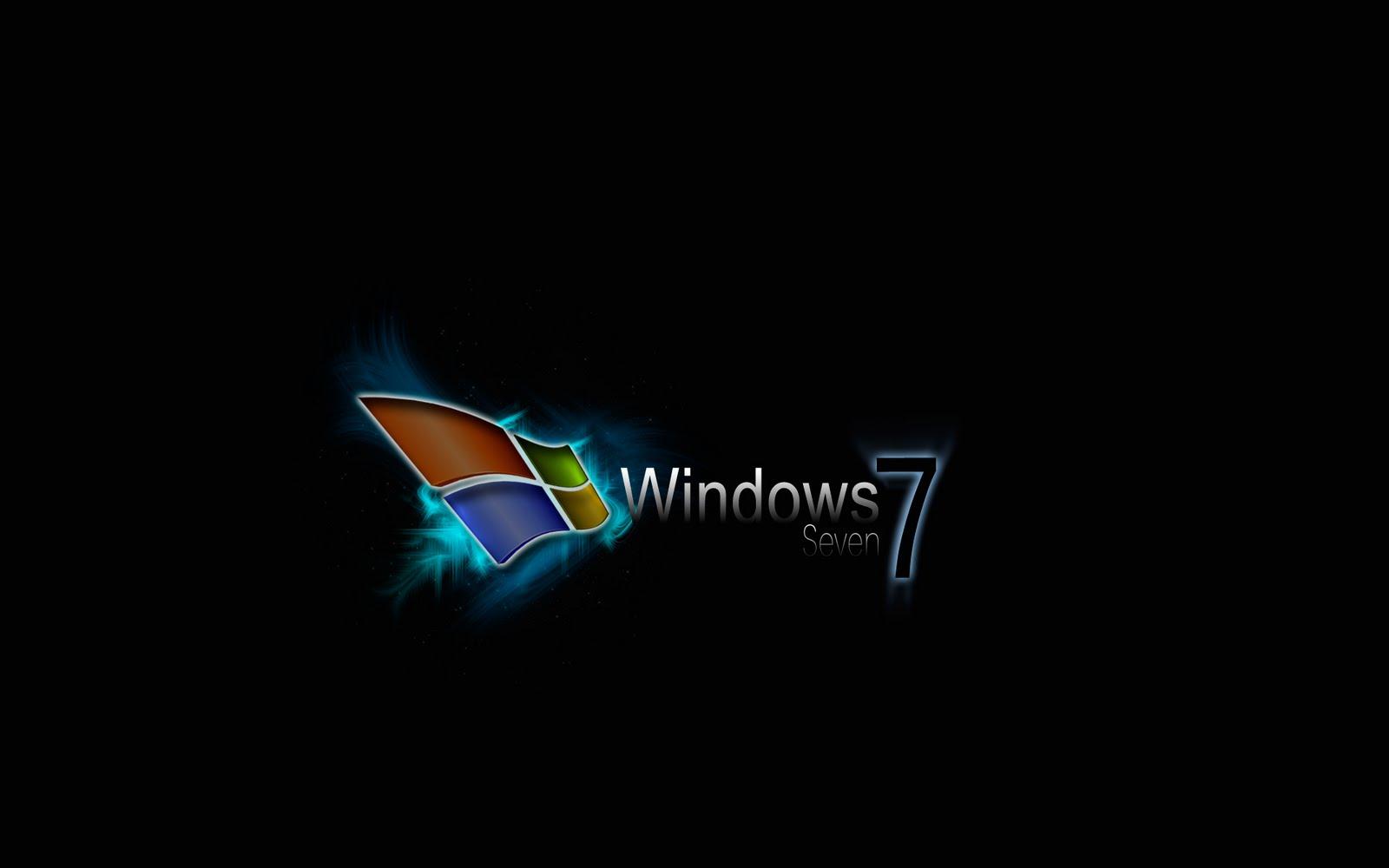 Logo Wallpaper Collection Windows seven 7 logo wallpaper part 3 1600x1000