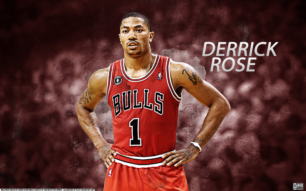 Derrick Rose by pllay1 1024x640