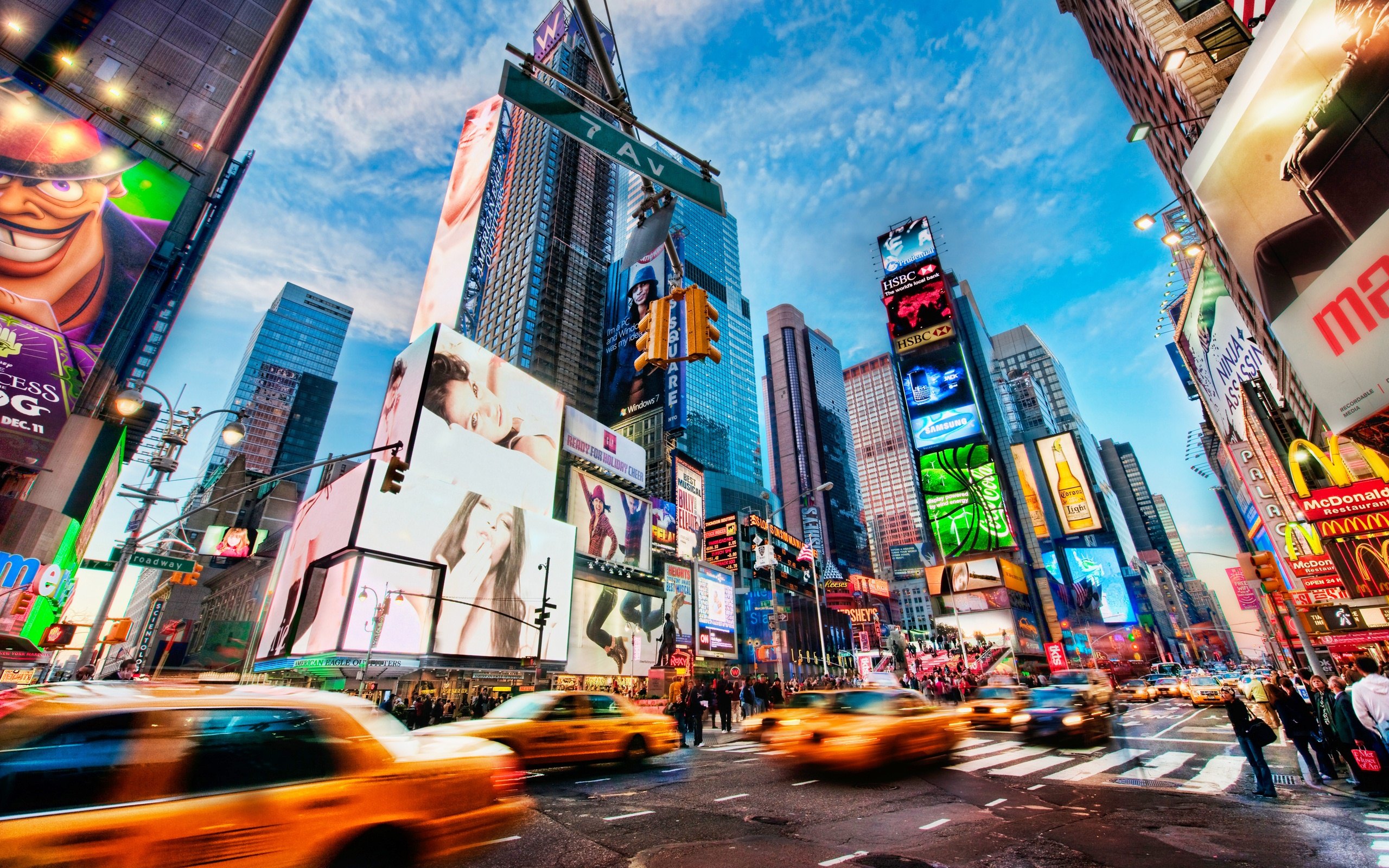Times Square New York Wallpapers HD Wallpapers 2560x1600