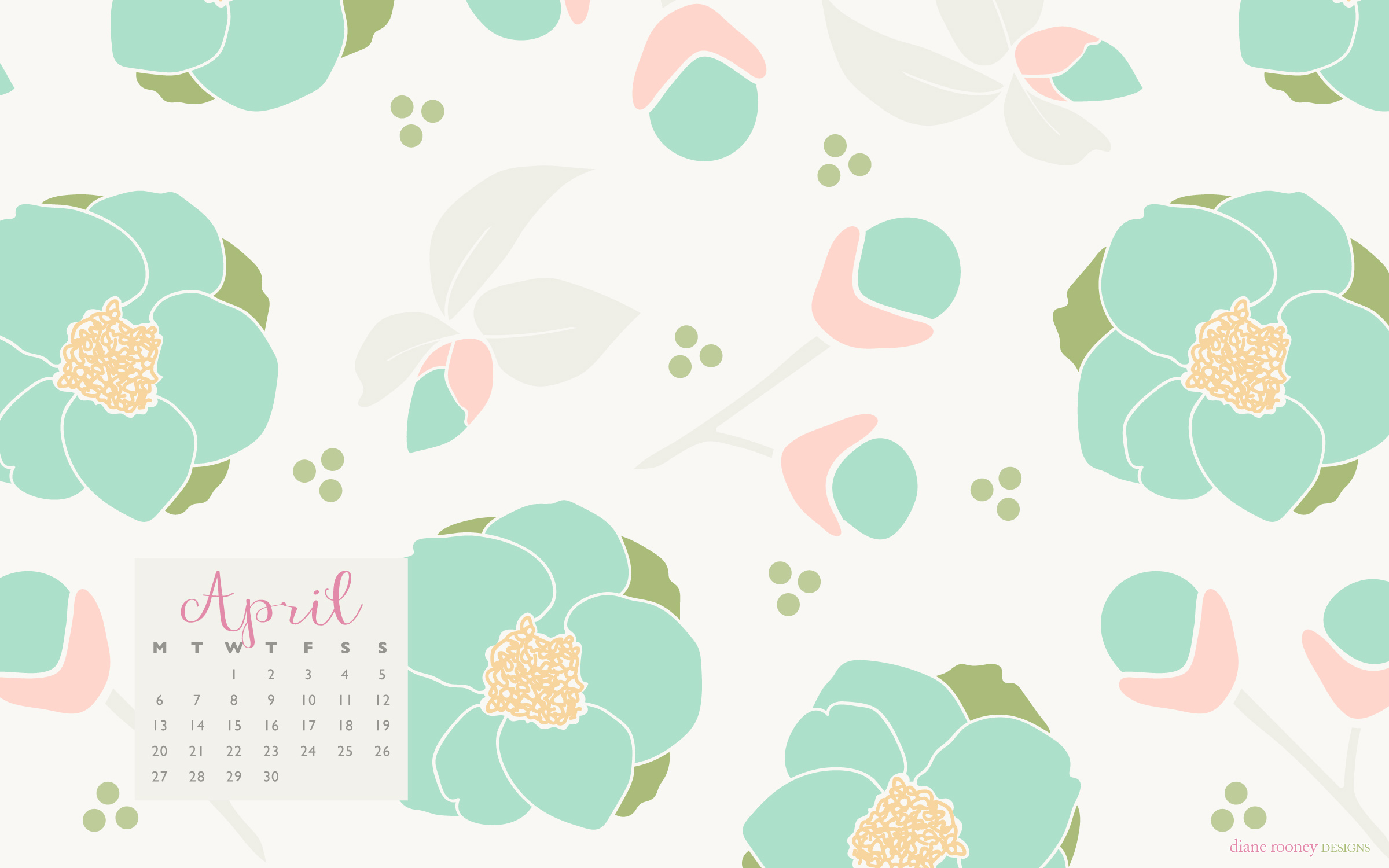 Free Download Hello April A Desktop Background 2400x1500 For