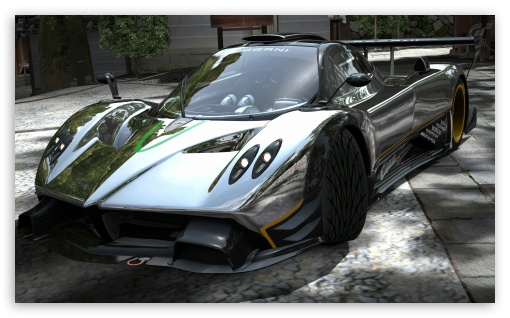 Pagani Zonda R Chrome HD wallpaper for Wide 53 Widescreen WGA HD 16 510x318