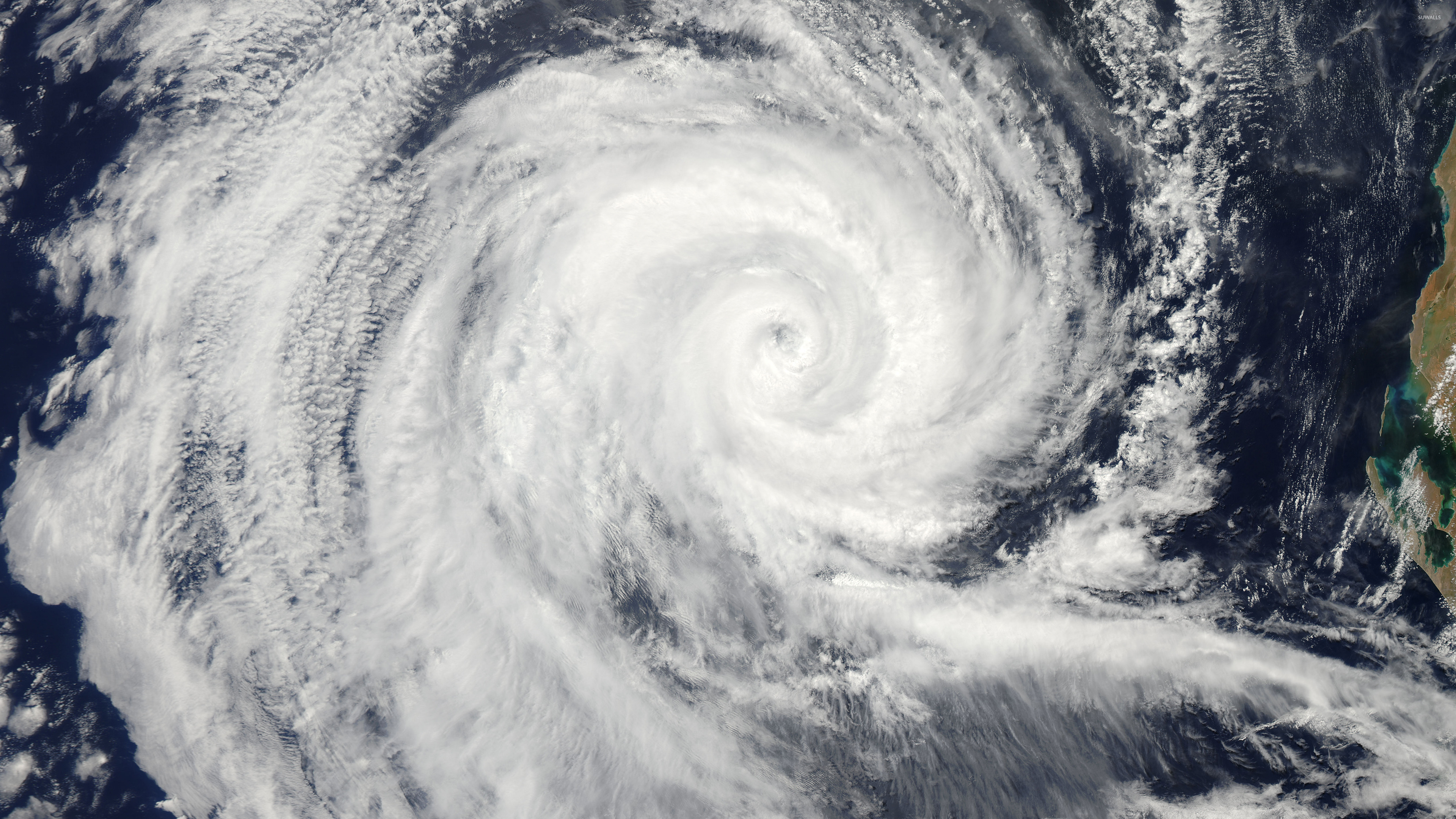 Tropical Cyclone Dianne wallpaper   Space wallpapers   44424 3840x2160