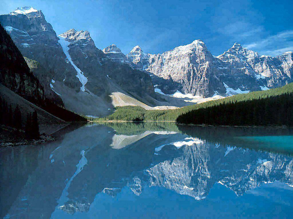 Canadian Rockies Banff Canada 1024x768
