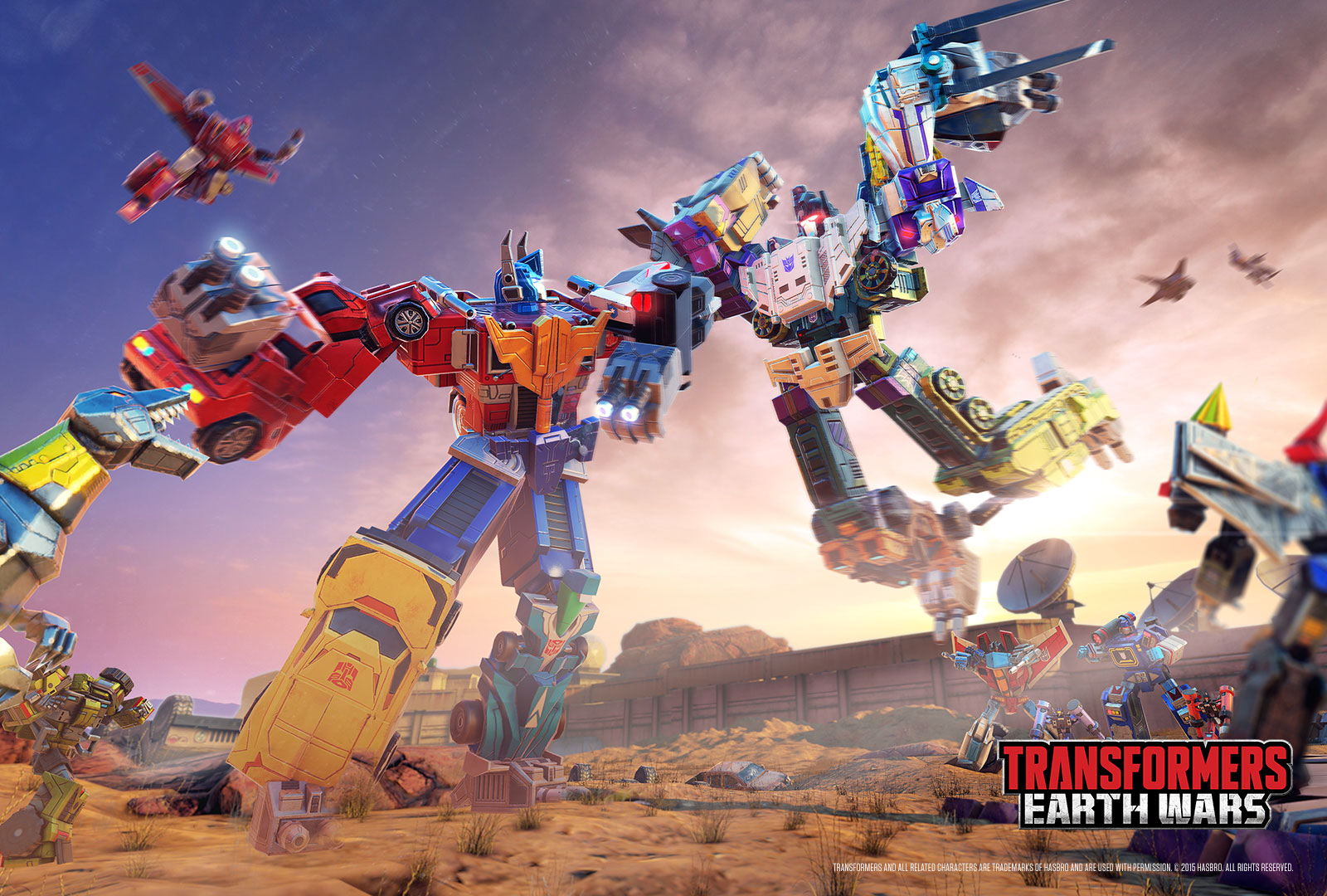 Wallpapers   Transformers Earth Wars 1600x1080