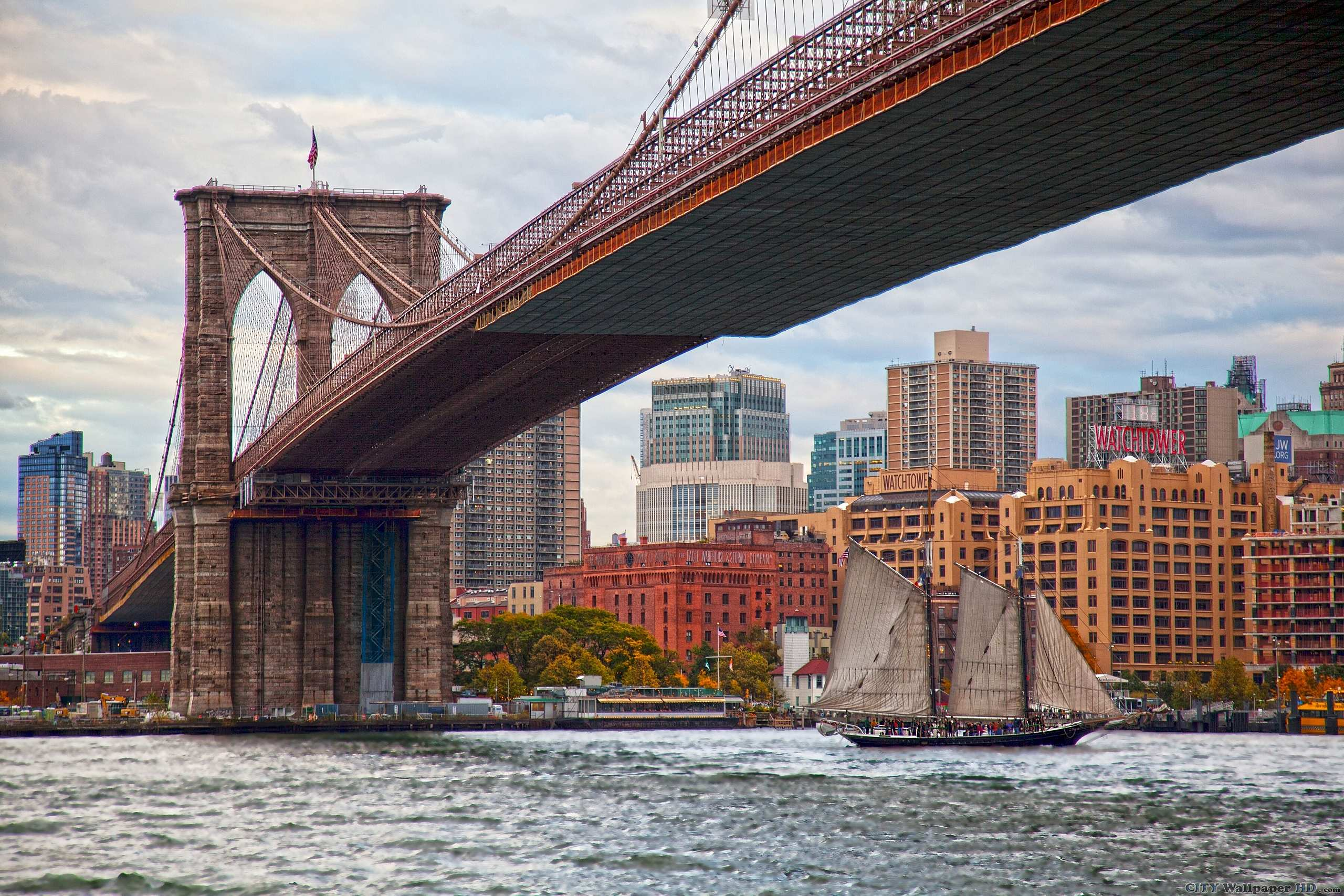 Brooklyn Bridge wallpaper. HQ wallpapers cities and ...