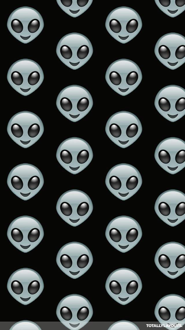 alien emoji wallpaper   wallpapersafari