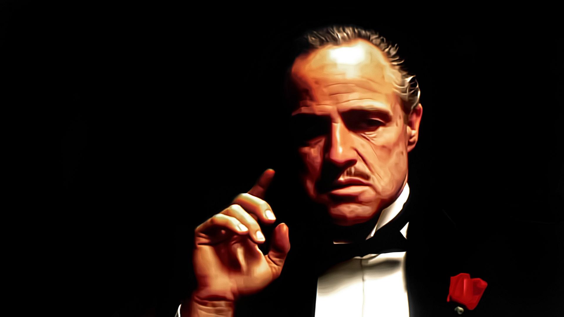 Wallpaper marlon brando godfather godfather don vito corleone 1920x1080