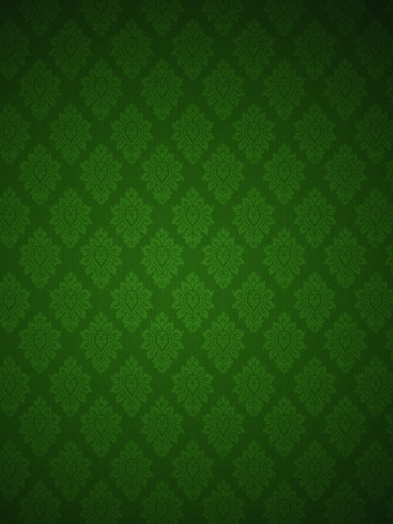 Backgrounds   Green Floral Pattern Wallpaper   iPad iPhone HD 768x1024