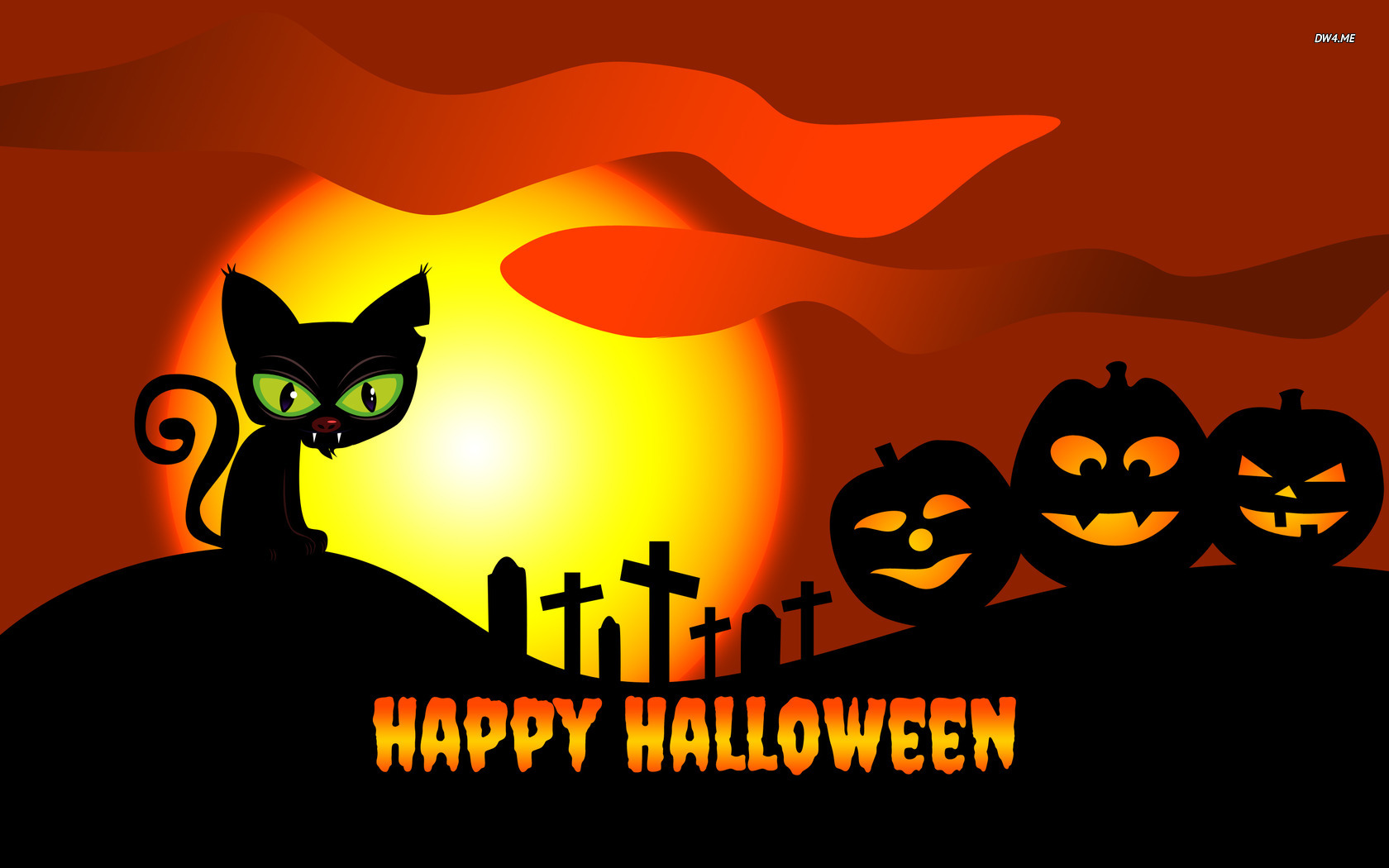 Happy Halloween wallpaper   Holiday wallpapers   1756 1680x1050