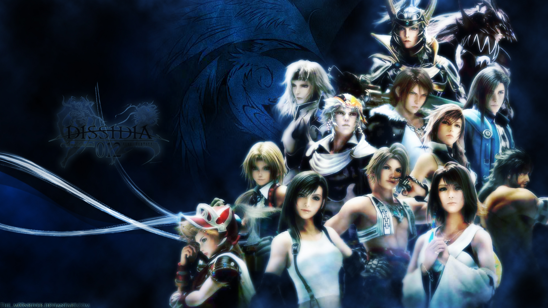 Final Fantasy Wallpaper 1920x1080 Final Fantasy Squall Leonhart 1920x1080