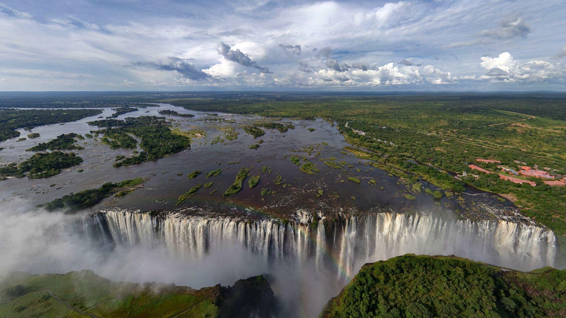 Victoria Falls Zimbabwe and Zambia Most Beautiful 1920x1080