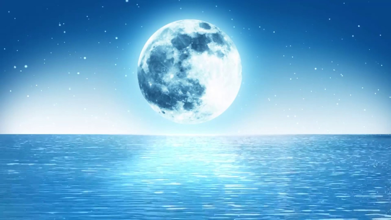 Nature Moon Background Romantic Background Animated 1280x720