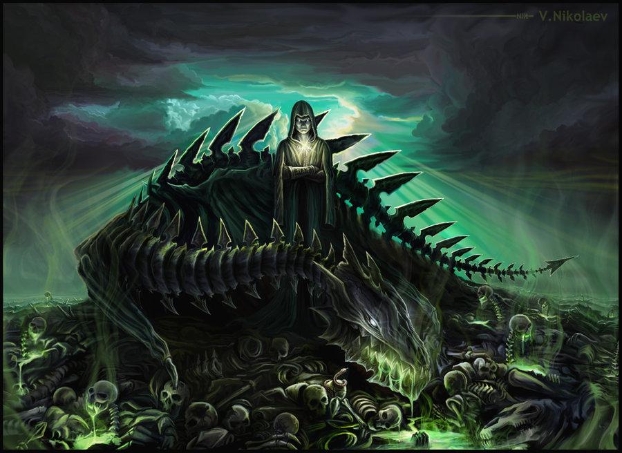 Fantasy Art Necromancers Wallpapers Hd Desktop And: Necromancer Wallpaper