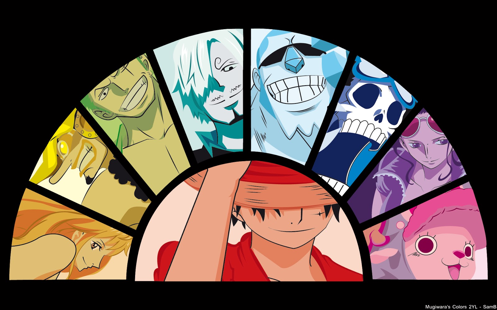 Luffy Anime One Piece Character HD Wallpaper Desktop PC Background 1600x1000