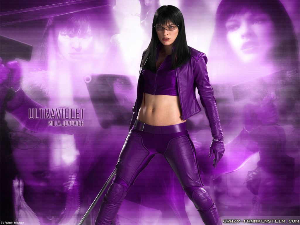 Milla Jovovich Ultraviolet Wallpapers
