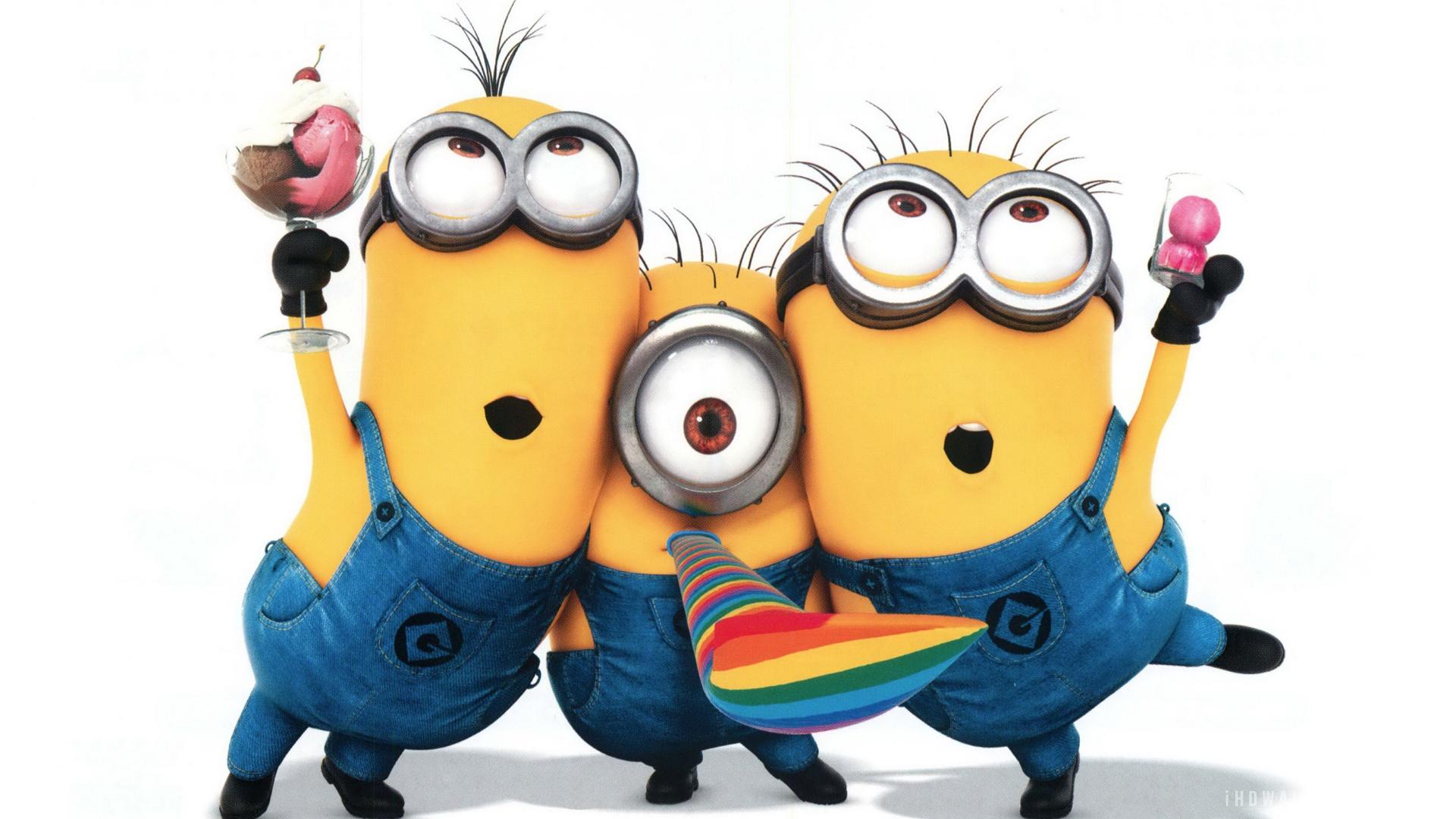 Minion Funny Minions Anime Movies Hd Wallpaper with 1920x1080 Cartoon 1920x1080