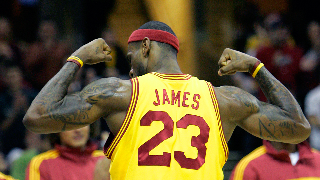 LeBron James to go back to No. 23 for Cleveland Cavaliers return