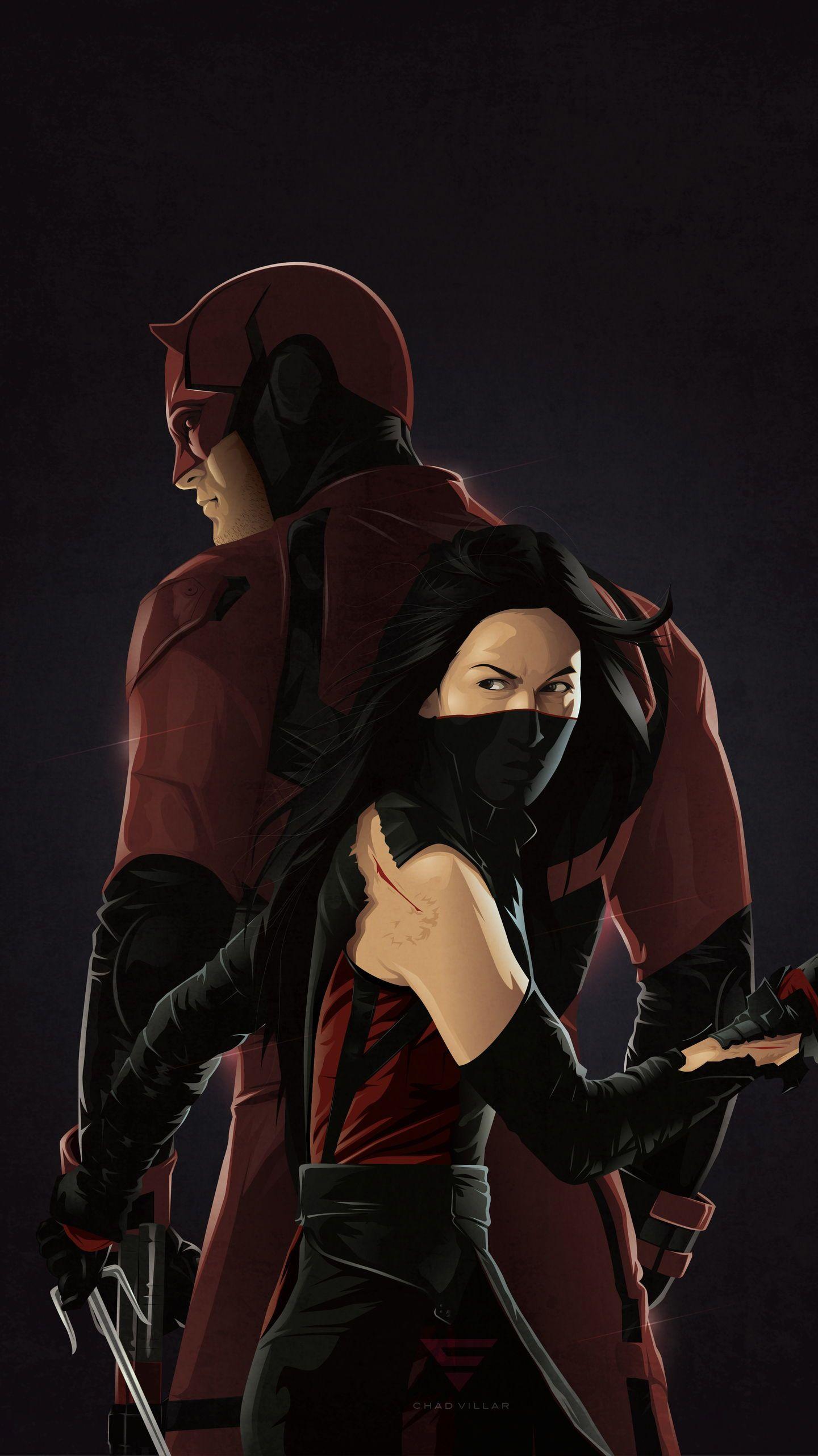 Daredevil Defenders Marvel Television wallpaper poster 1440x2560
