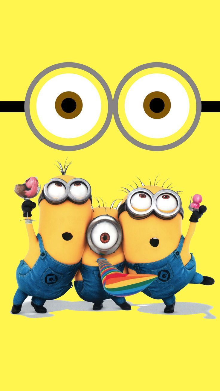Minions Despicable Me Wallpapers Desktop Backgrounds All Minions 736x1306