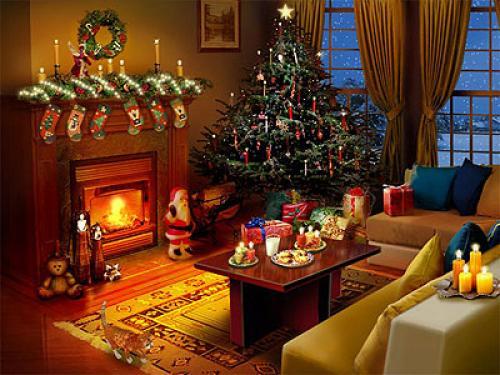 Animated Christmas Background 500x375