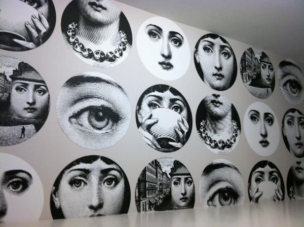 46 Piero Fornasetti Wallpaper On