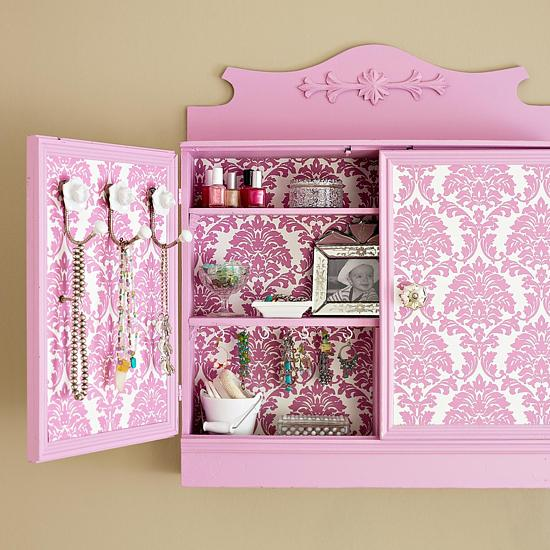 25 Furniture Decoration Ideas Personalizing Shelves and Cabinets with 550x550