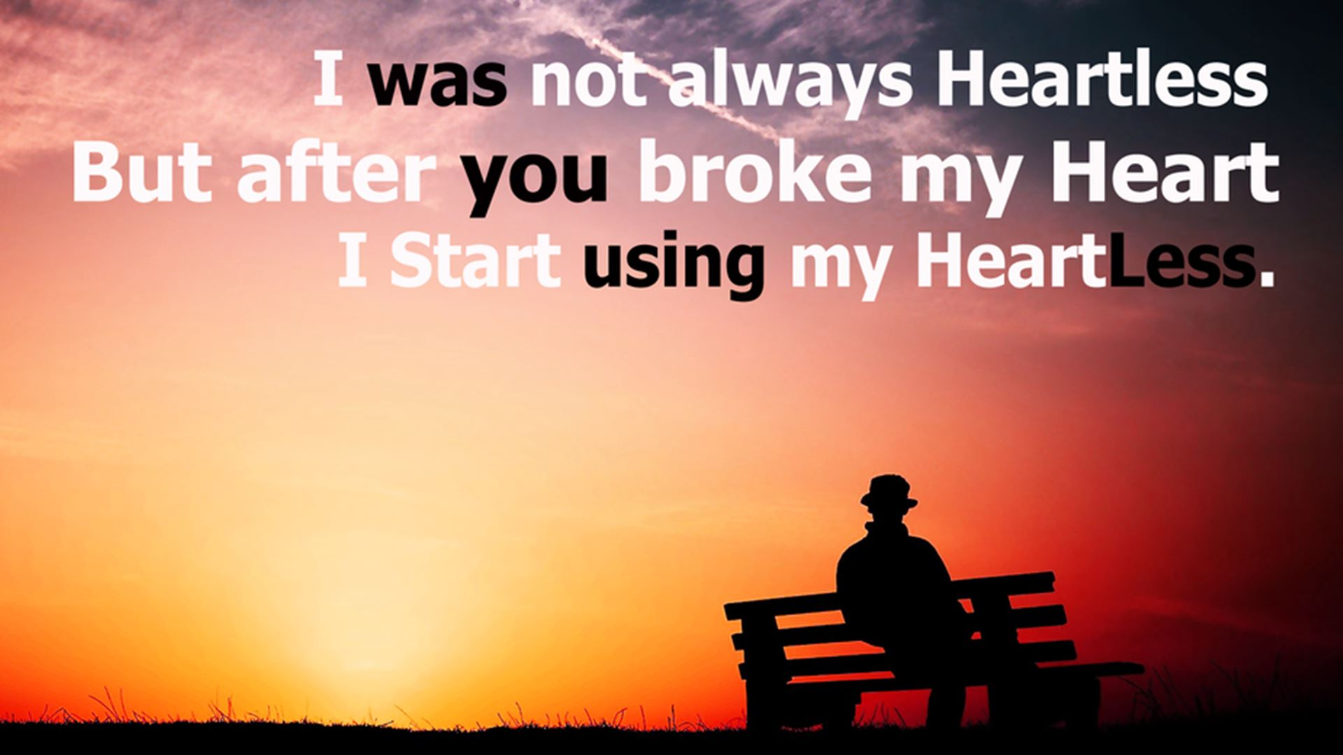 BROKEN HEARTS QUOTES WALLPAPERS image quotes at 1920x1080