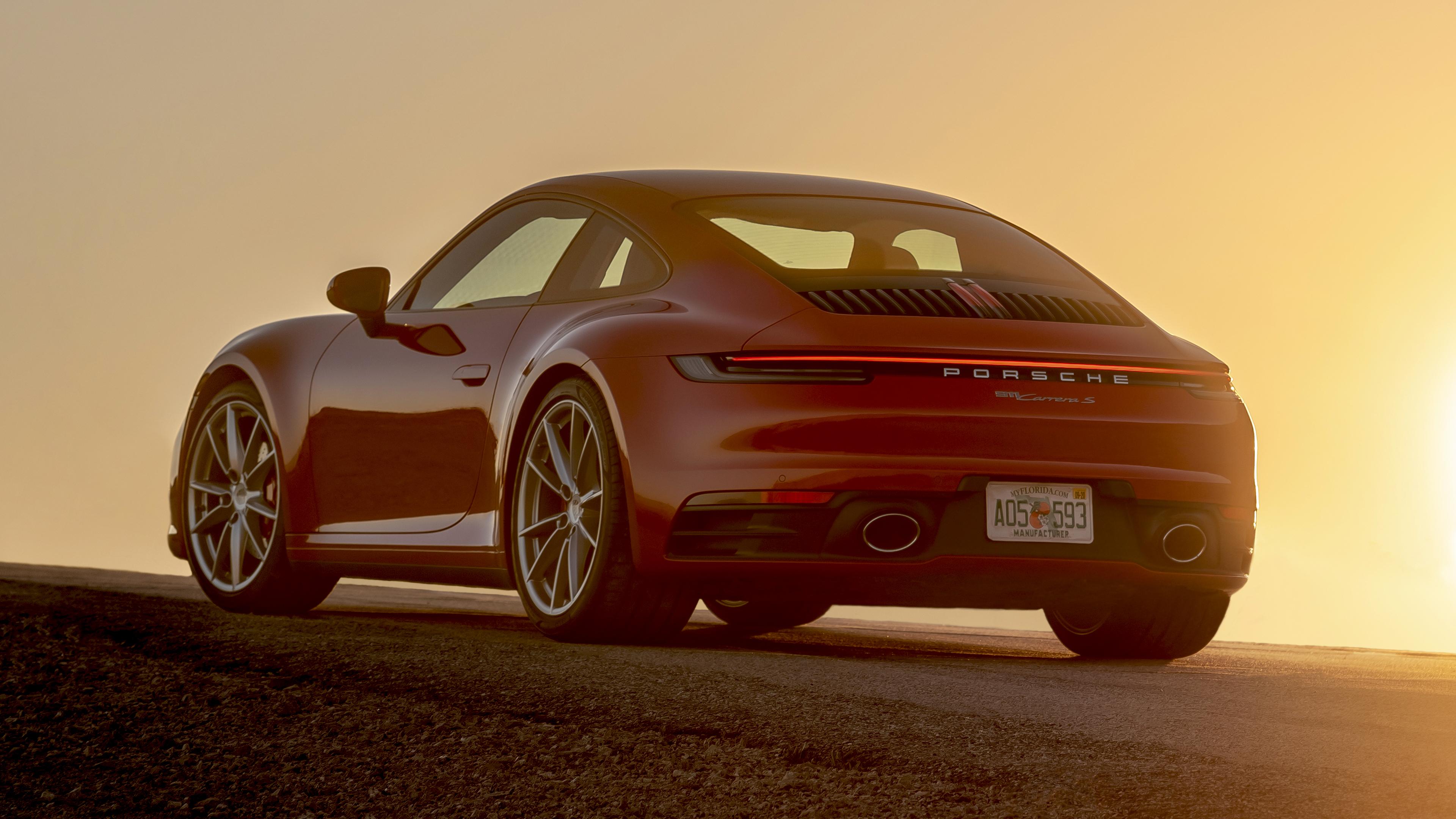 2020 Porsche 911 Carrera S 4K 2 Wallpaper HD Car Wallpapers ID 3840x2160