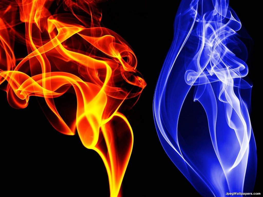 Download 3D and Art wallpaper Colored Smoke 1024x768