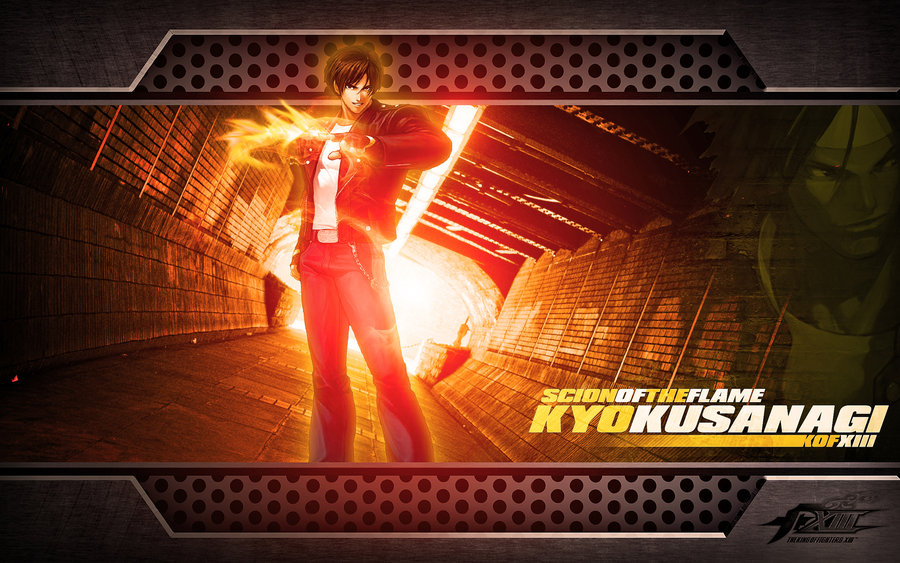Kyo Kusanagi KOF Wallpaper by TheShadowloo 900x563