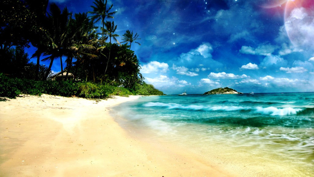 129 Beach Wallpaper Examples To Put On Your Desktop Background 1024x576