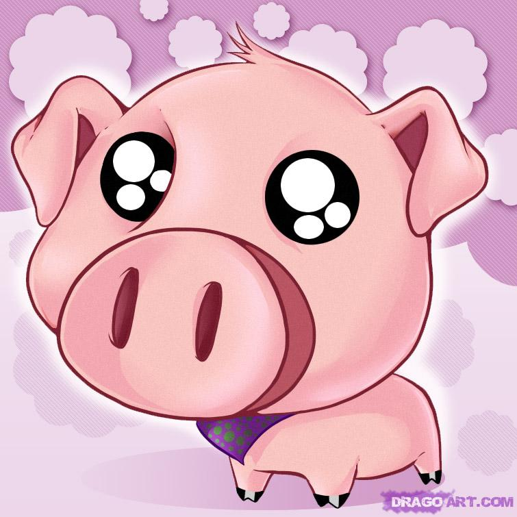 cute pig Wallpapers 755x755