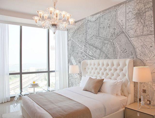 Custom Printed Map Wallpaper Murals Decorating tips Pinterest 640x490