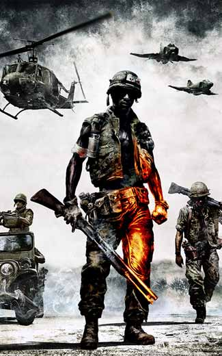 Battlefield Bad Company 2 Vietnam wallpapers or desktop backgrounds 325x520