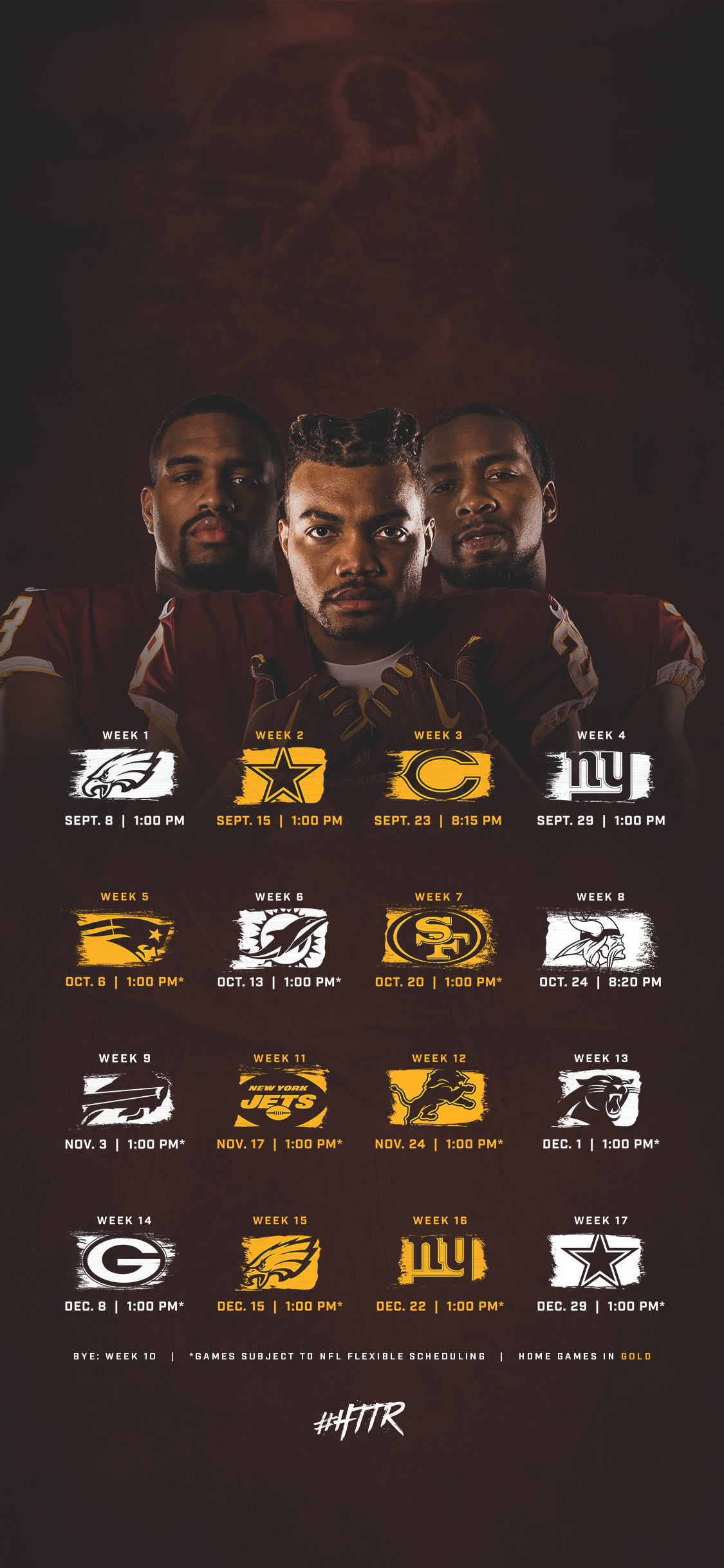 Redskins Fan Zone Washington Redskins   Redskinscom 1125x2436