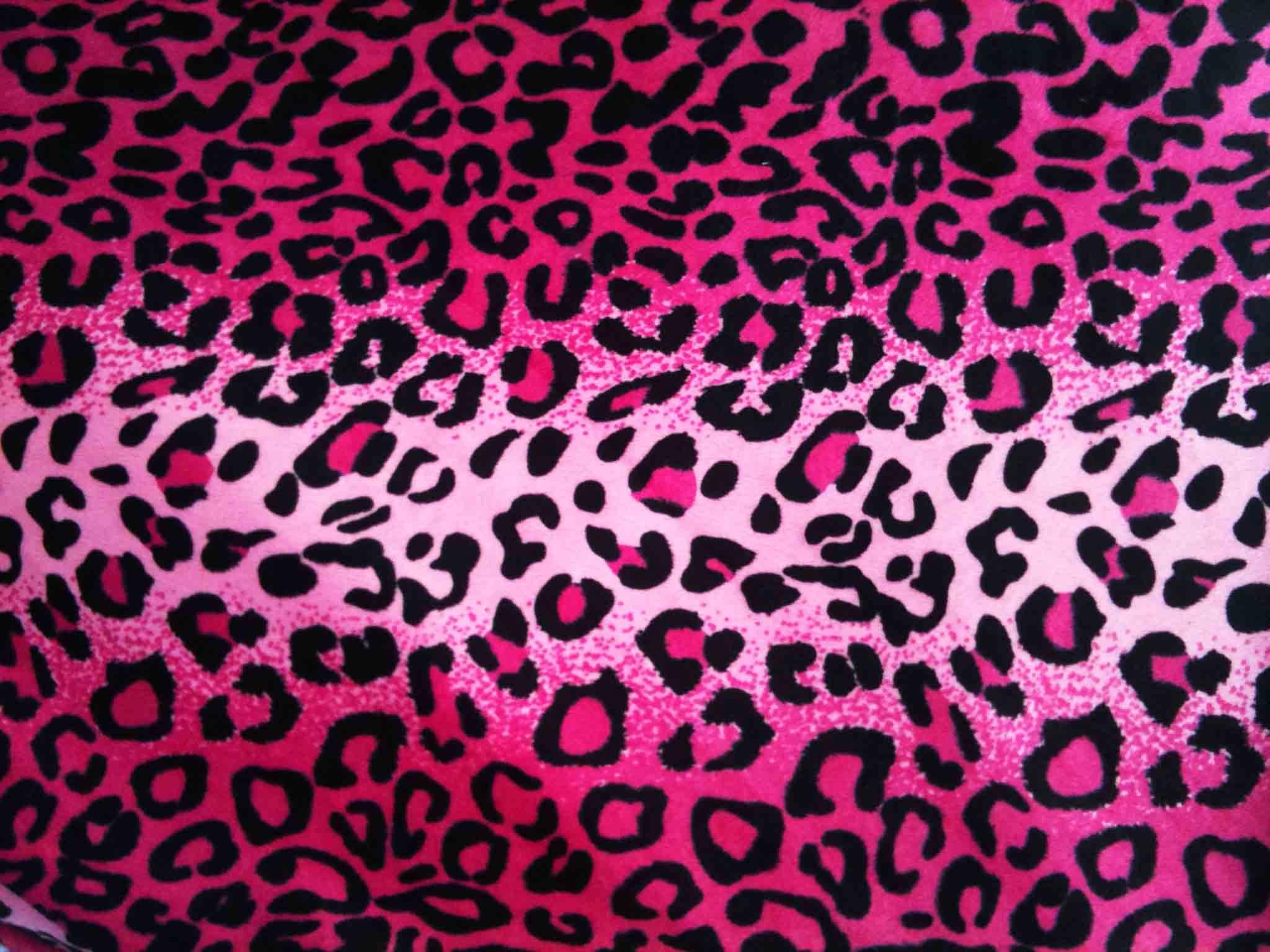 49 Pink Leopard Wallpaper On Wallpapersafari