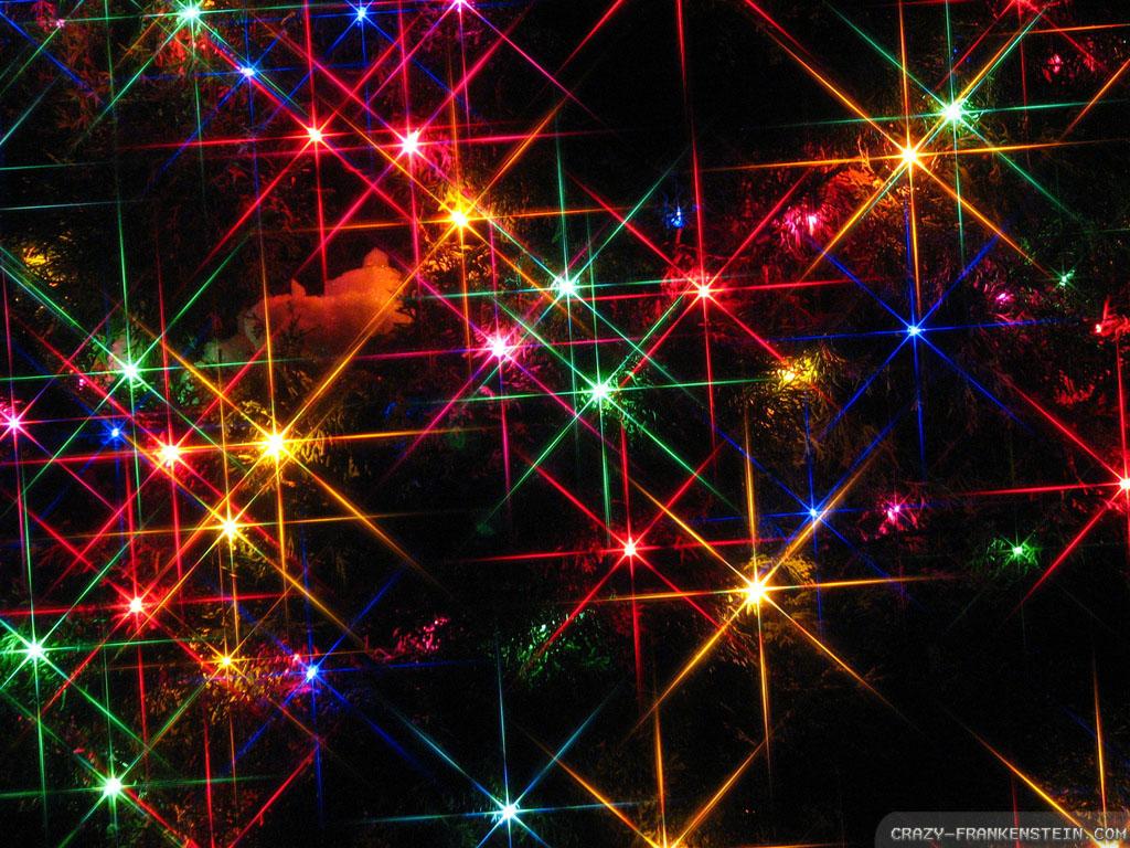 Animated Christmas Lights Wallpaper