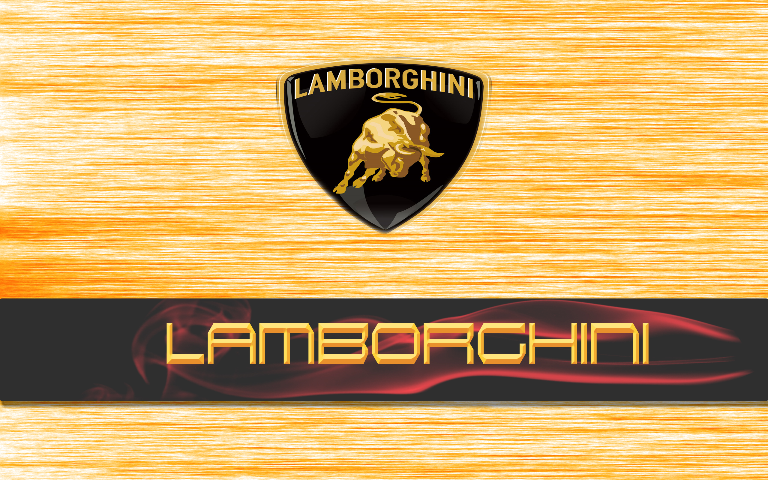 Lamborghini Logo HD Desktop Wallpaper HD Latest Wallpapers 2560x1600