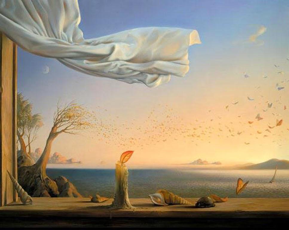 DREAM ZONE Vladimir Kush Paintings Wallpapers 967x768