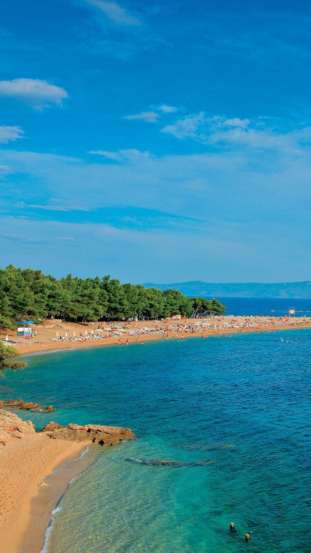 Narrow beach iPhone 5s Wallpaper Download | iPhone Wallpapers, iPad ...