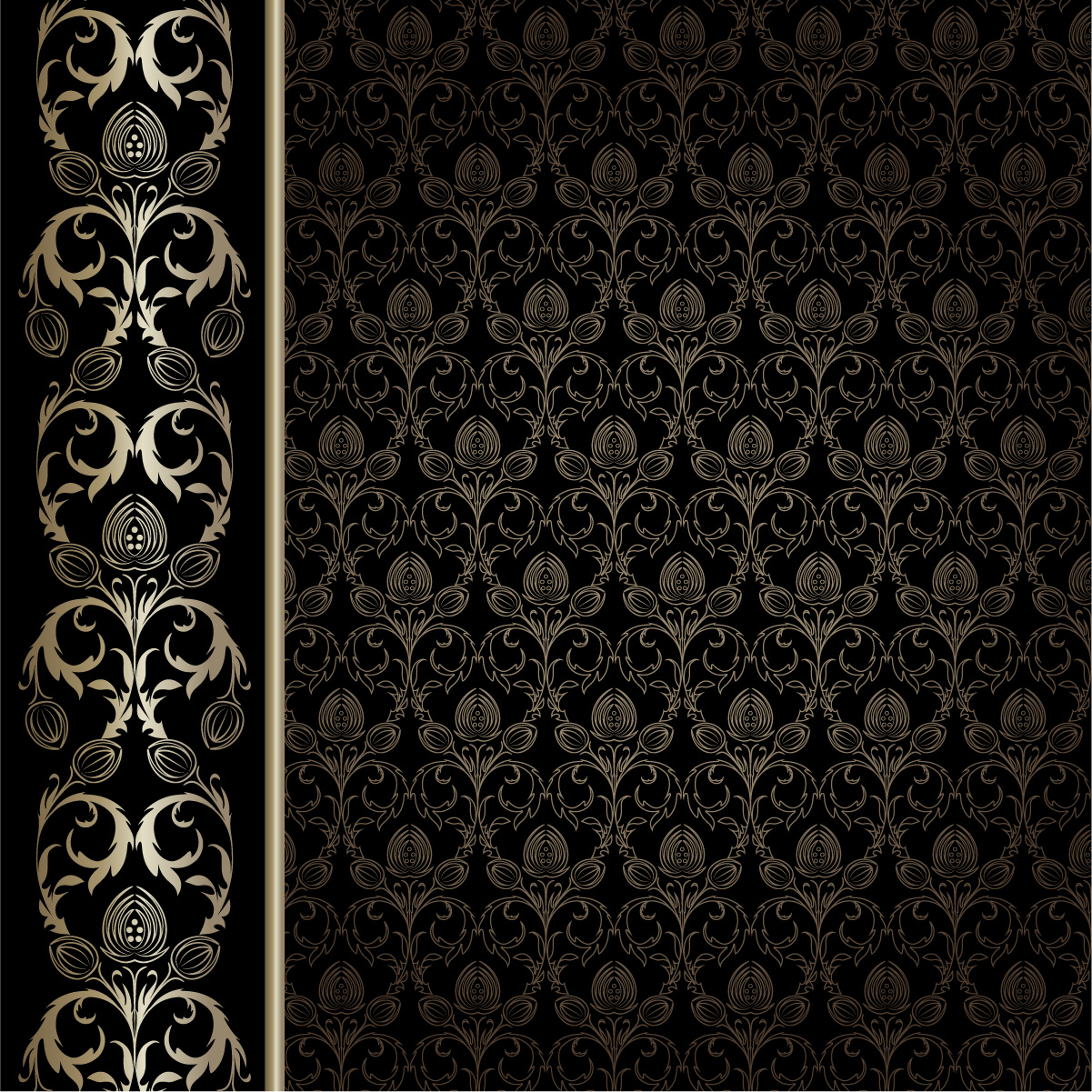 gorgeous wallpaper background pattern vector Vector 4Vector 1201x1201