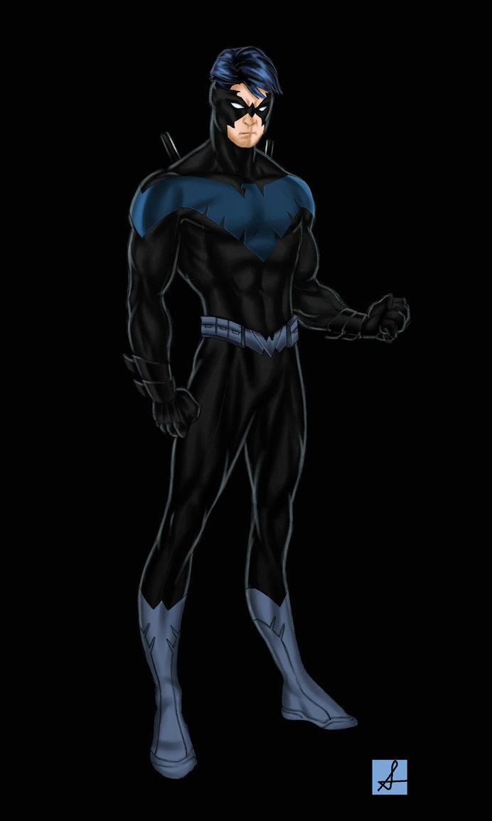 Nightwing Redesign by sean izaakse 692x1155