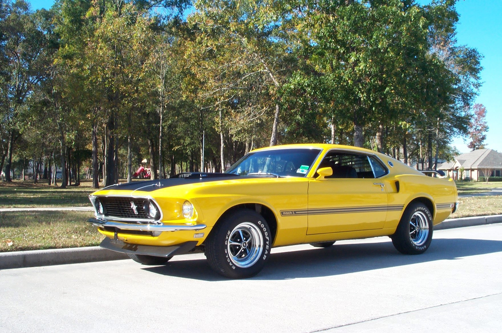 1969 Ford Mustang Mach 1 Mobile Wallpaper Apps Directories 1760x1168