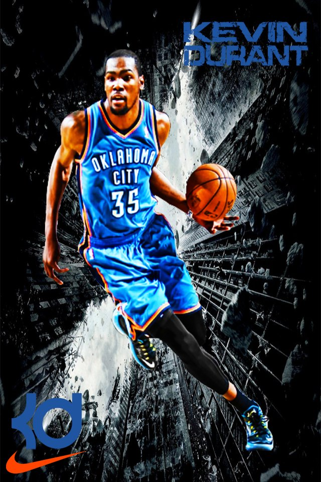 Kevin Durant Wallpaper by Cedierich 640x960