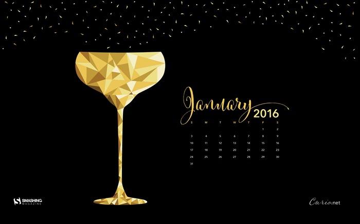 January 2016 Calendar Desktop Themes Wallpaper Wallpapers List   page 700x437