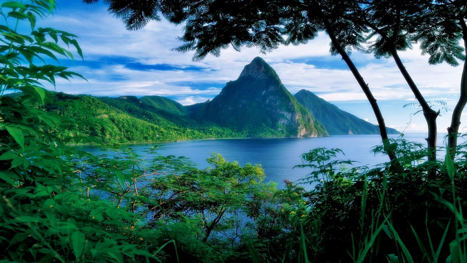 saint lucia   154500   High Quality and Resolution Wallpapers 1600x900