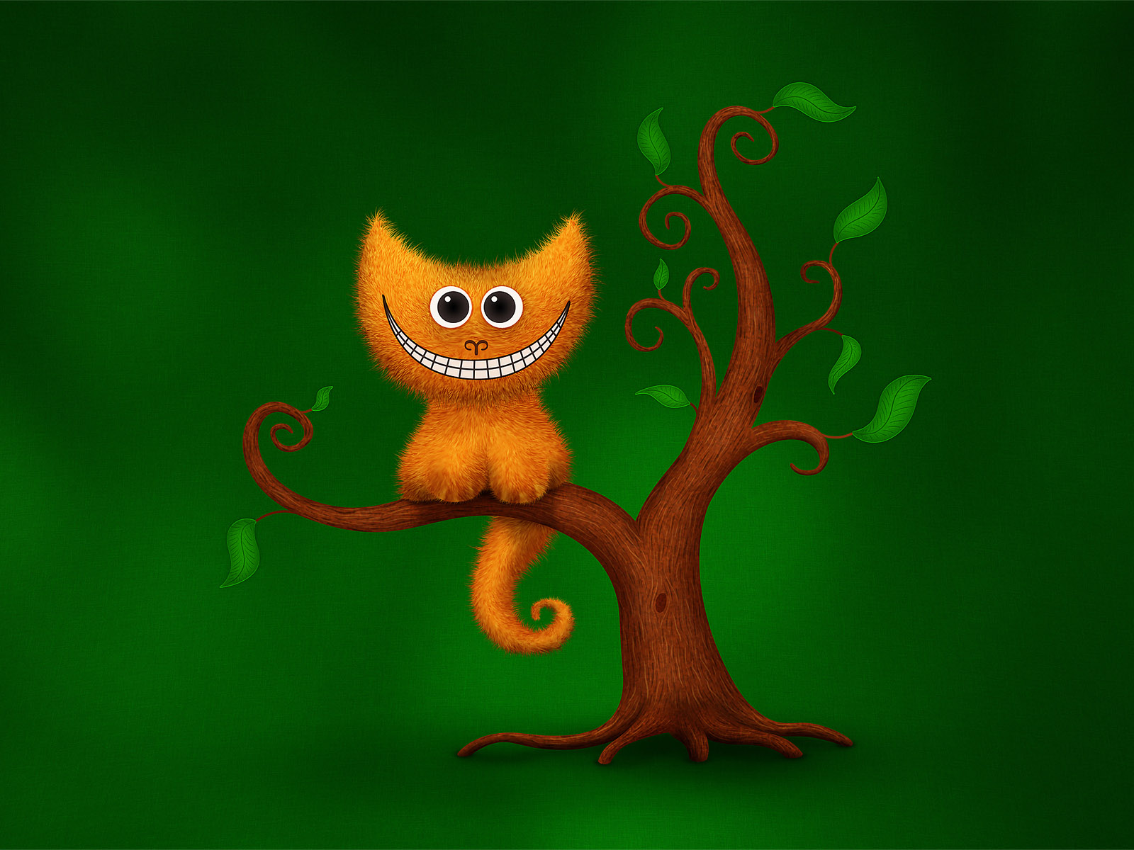 Funny Cartoon Cat Wallpaper 1600x1200