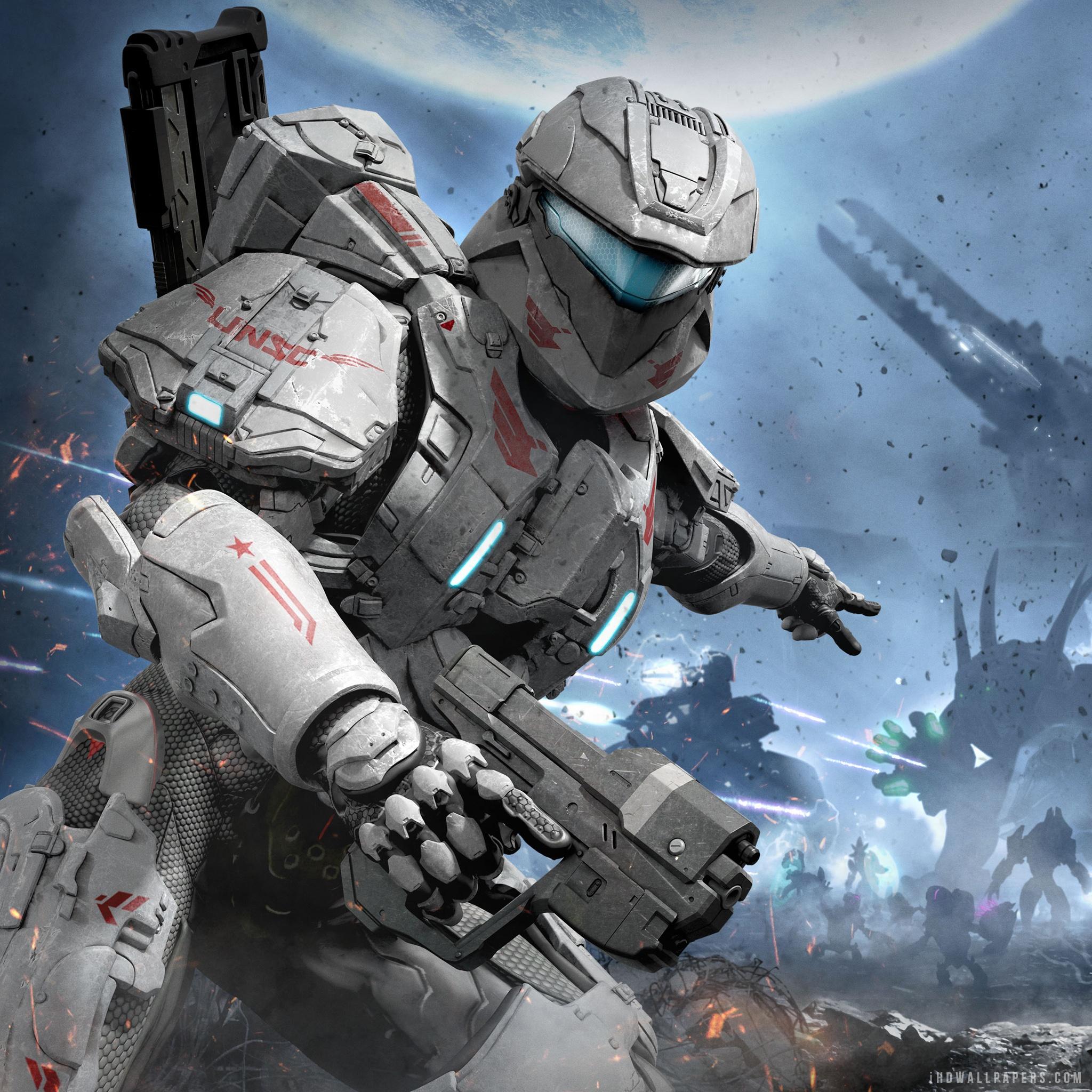 Halo Spartan Assault HD Wallpaper   iHD Wallpapers 2048x2048