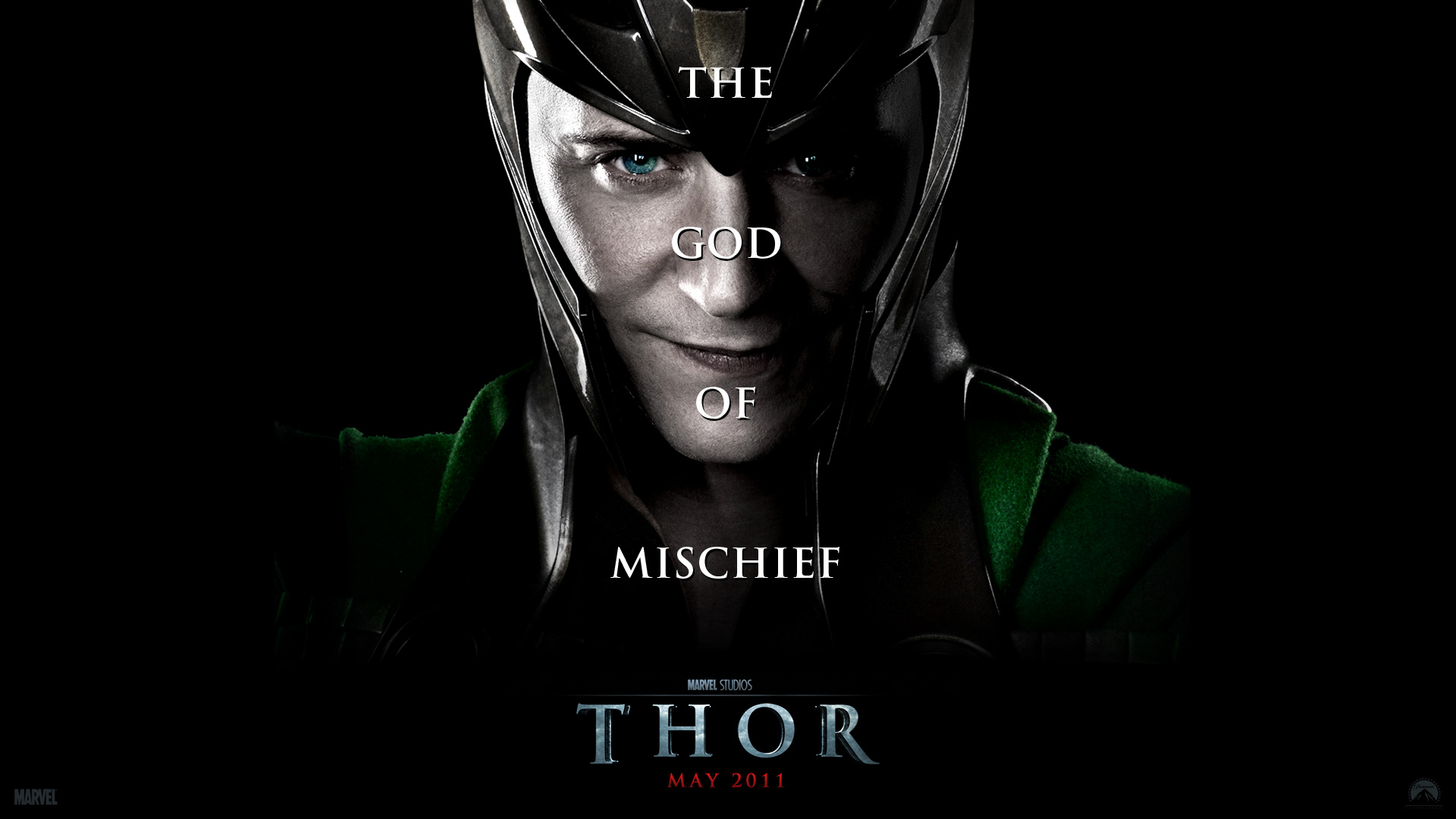 Loki from the Movie Thor Desktop Wallpaper 1920x1080